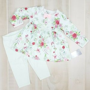 FIRST IMPRESSIONS Baby Girl Outfit 3-6 M NWT DO4